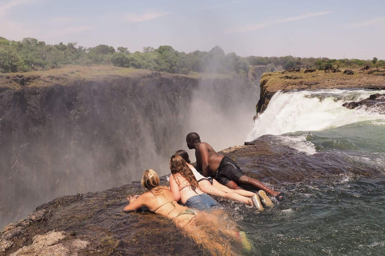 Devil's Pool, Victoria Falls Zambia