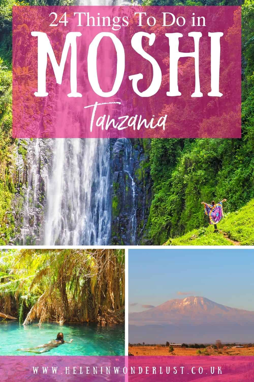 Looking for things to do in Moshi? Here are my favourite things to do in this great city in Northern Tanzania!