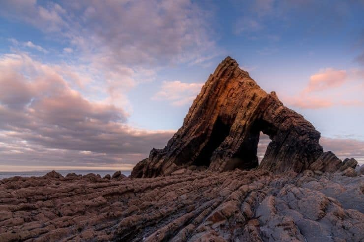 Blackchurch Rock & Mouthmill Beach - North Devon
