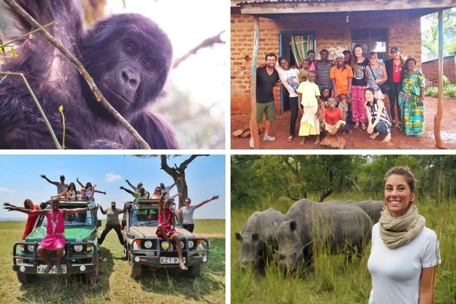 Masai Mara & Gorillas Group Tour