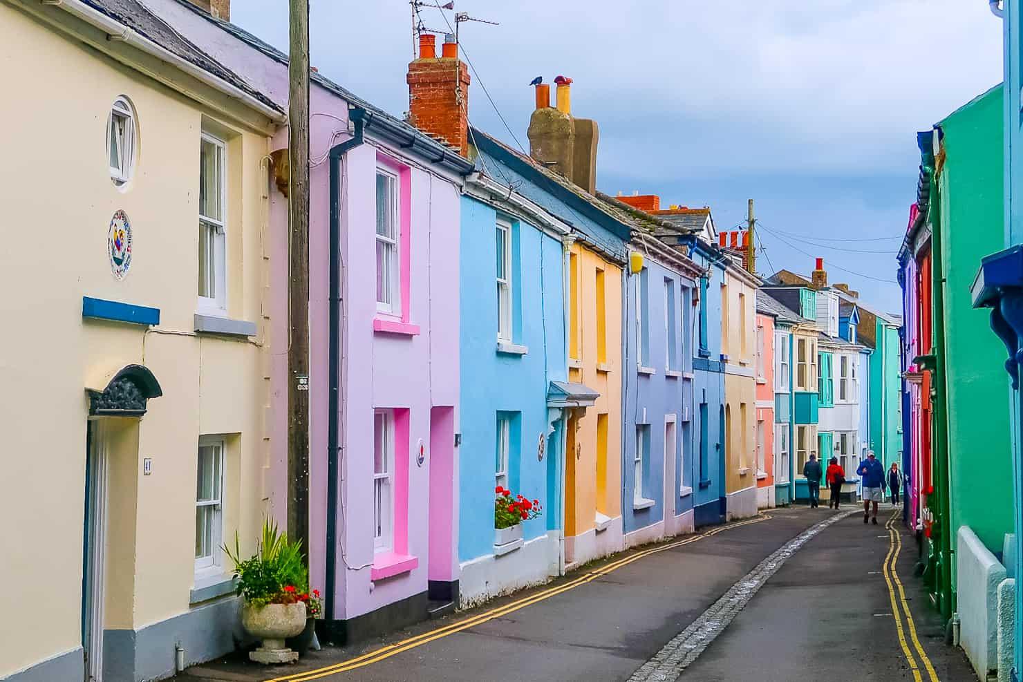 Pastel Houses Appledore North Devon
