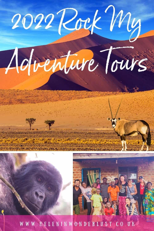 Rock My Adventure Tours 2022