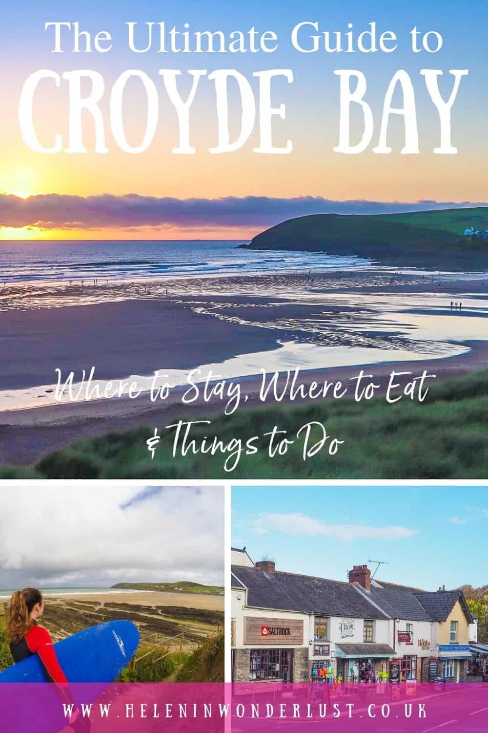 Planning to visit Croyde in North Devon? Here's my ultimate guide to Croyde Bay, including where to stay, where to eat and things to do!