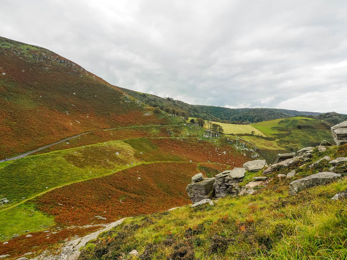 Valley of the Rocks - Exmoor North Devon