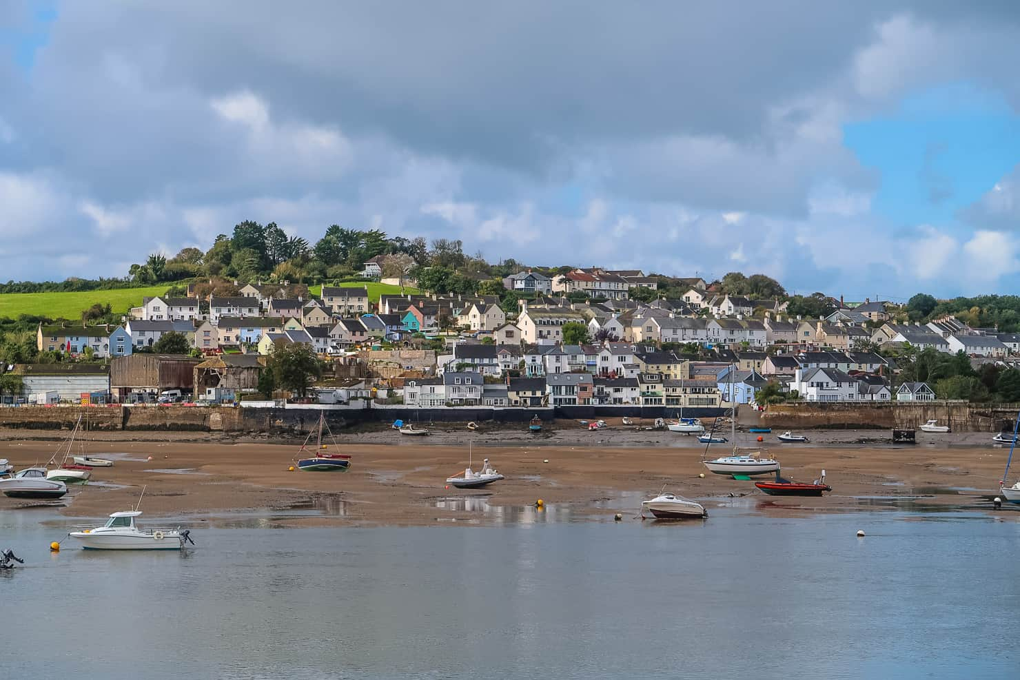 View of Appledore from Instow, North Devon