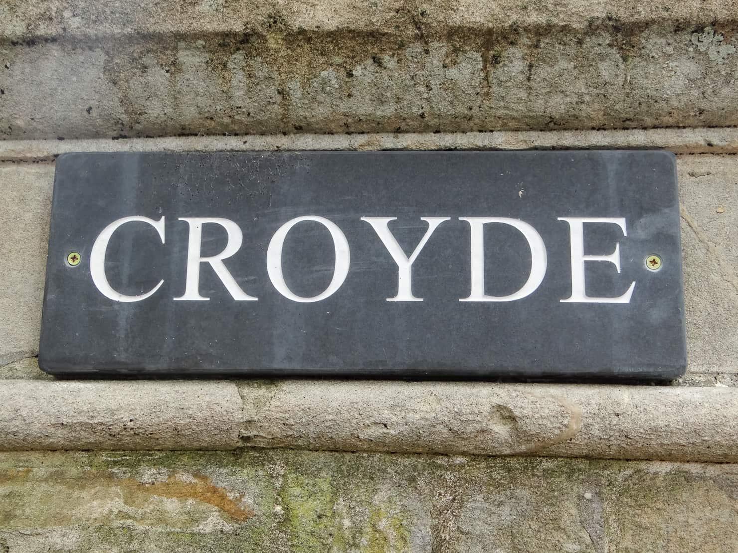 Croyde Sign