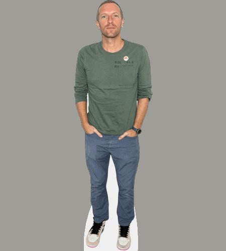 Chris Martin Cardboard Cutout