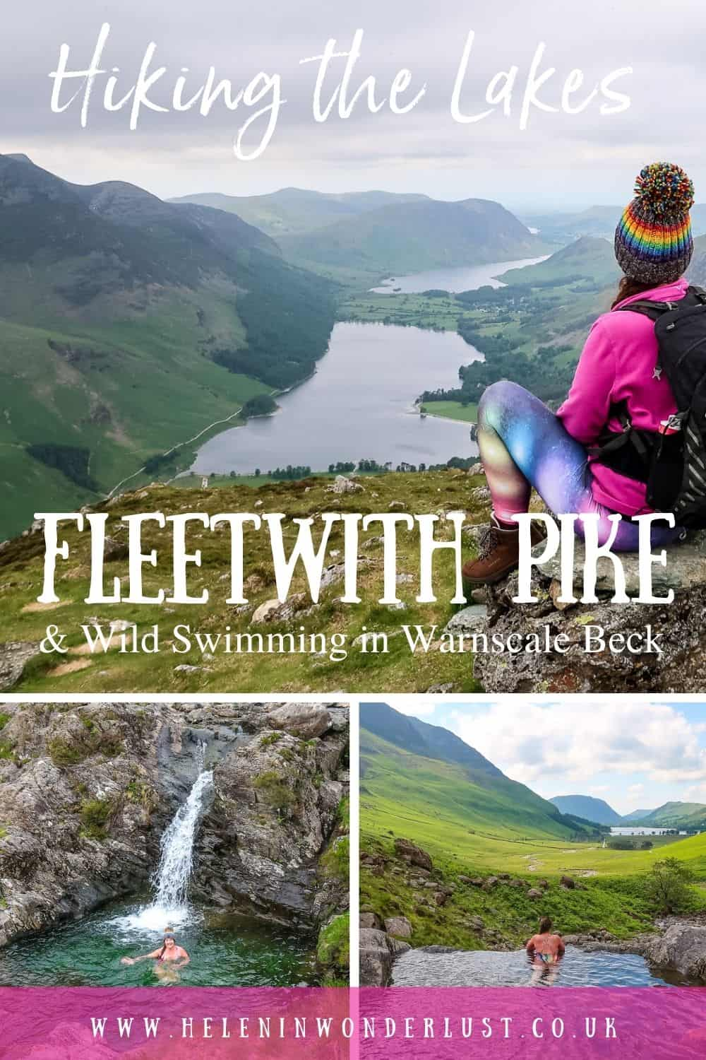Hiking the Lakes - Fleetwith Pike & Wild Swimming in Warnscale Beck