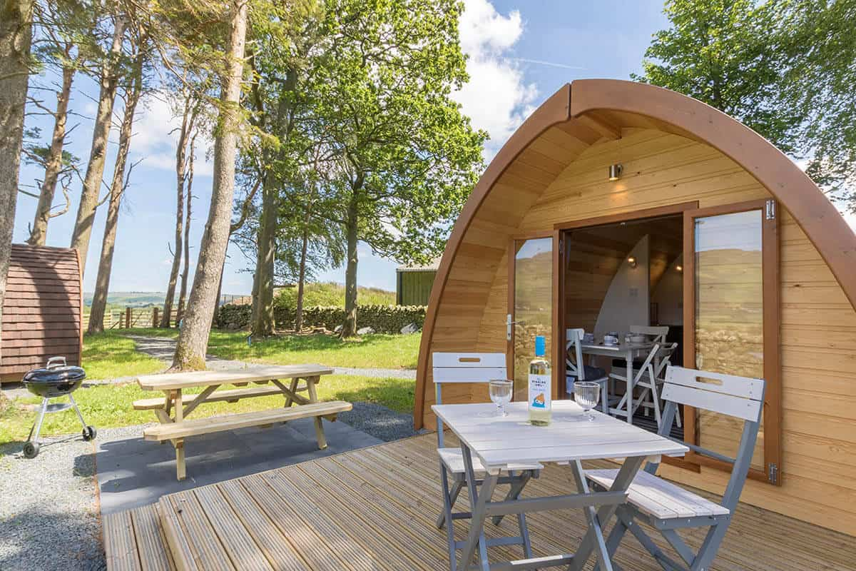 Ewe Love Camping Pods - Glamping in the Lake District