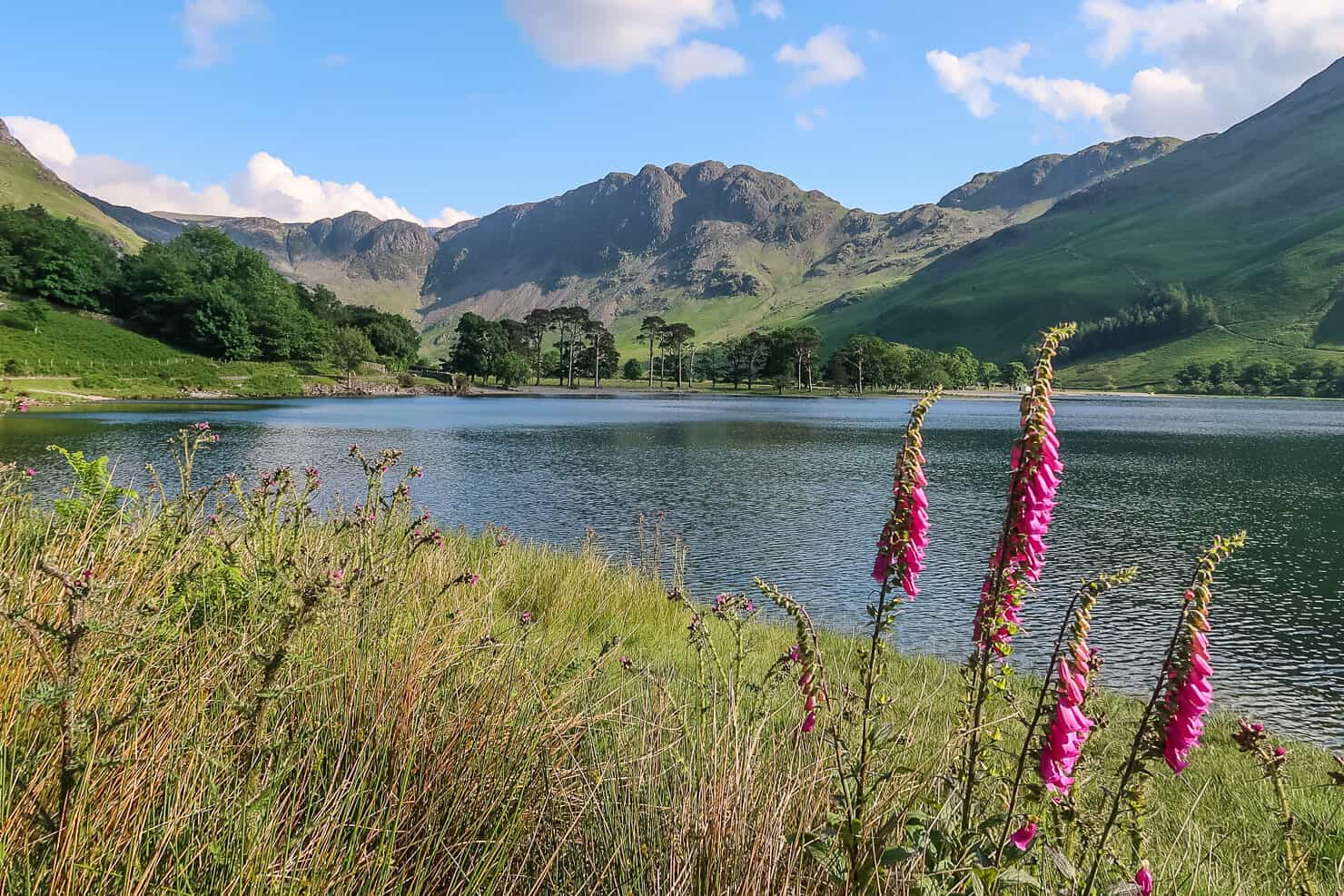 Buttermere in the Lake District