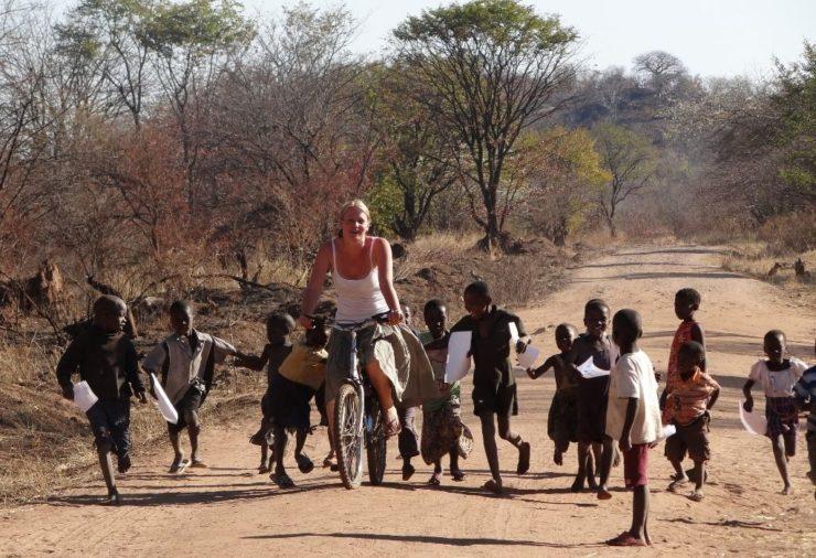 Cycling Tour in Livingstone, Zambia