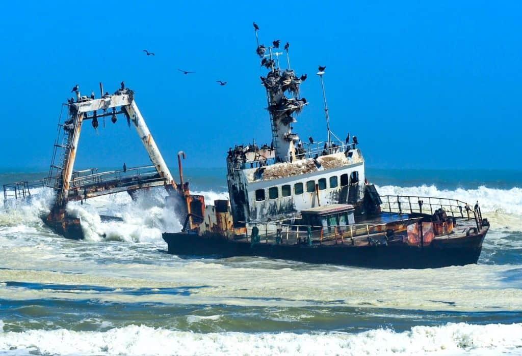 Skeleton Coast Shipwreck, Namibia - Henties Bay