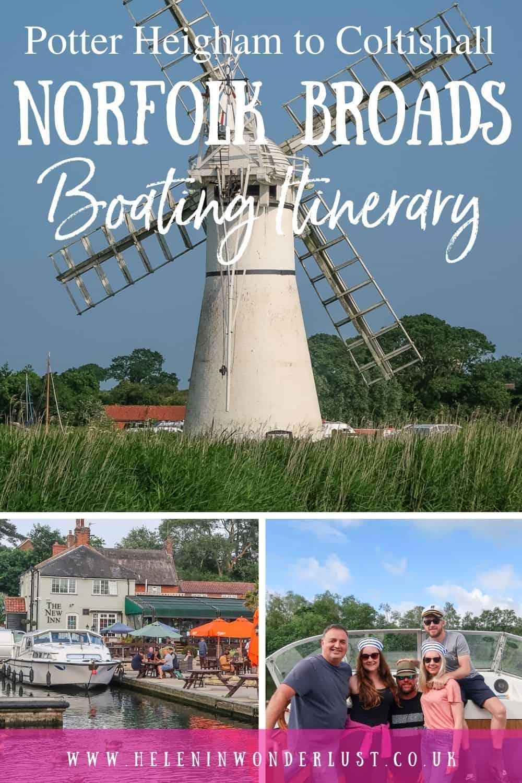 Norfolk Broads - Potter Heigham to Coltishall