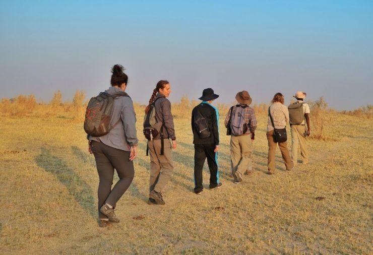 Walking Safari - Okavango Delta - Botswana