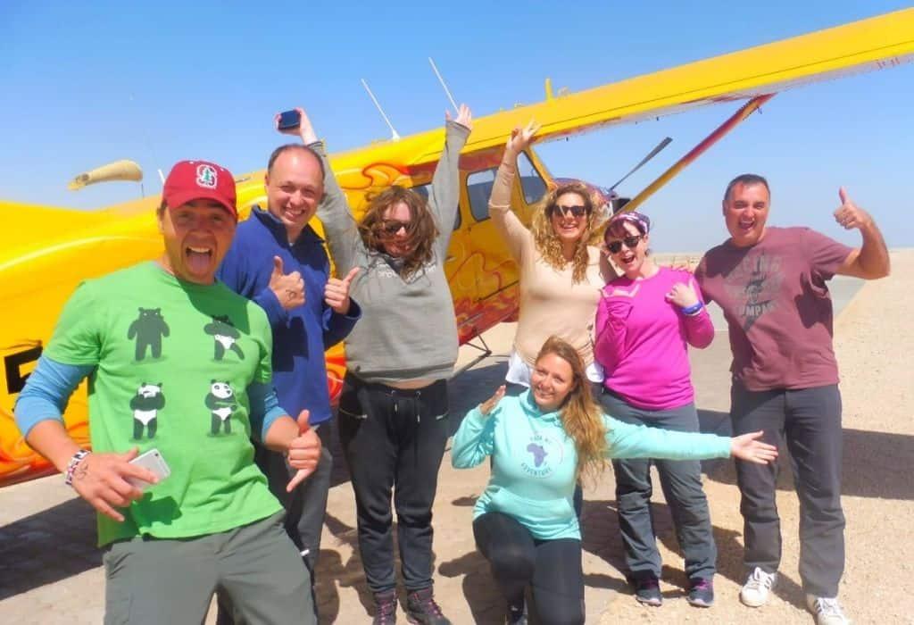 Scenic Flights in Namibia