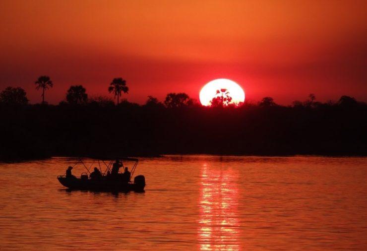 Sunset Cruise in Livingstone, Zambia
