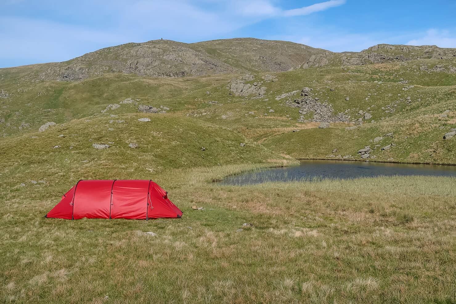 Responsible wild camping.