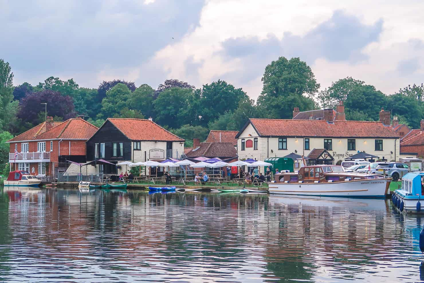 Coltishall in the Norfolk Broads