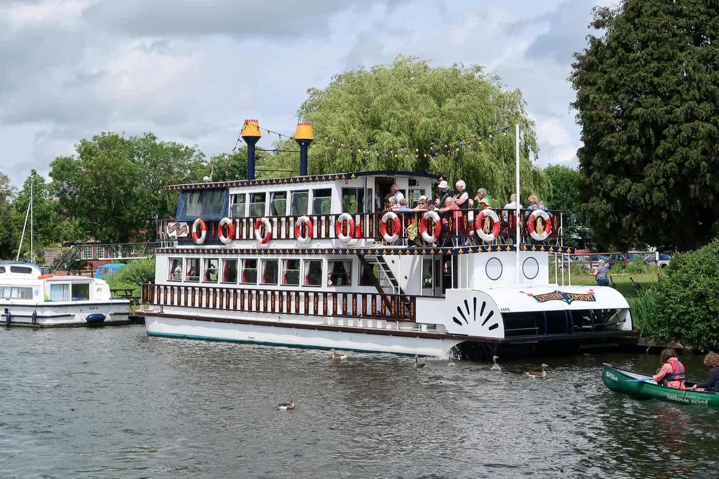 Steamboat Norfolk Broads