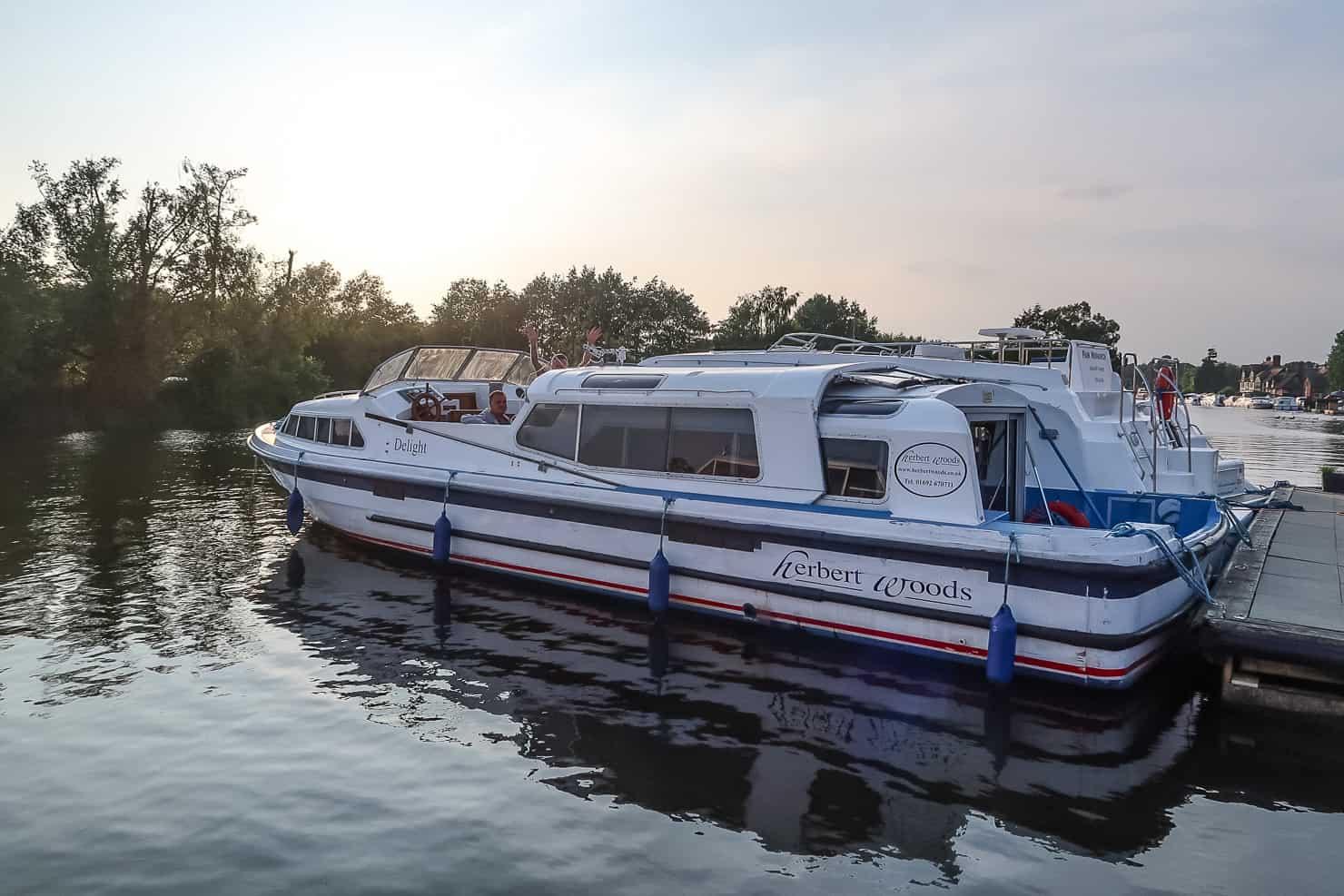 Norfolk Broads Boat Hire - Herbert Woods