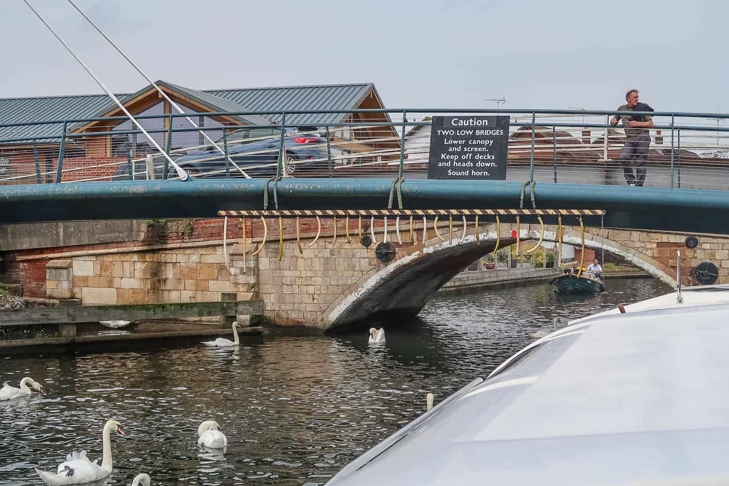 Wroxham Low Bridge - Norfolk Broads Boat Hire