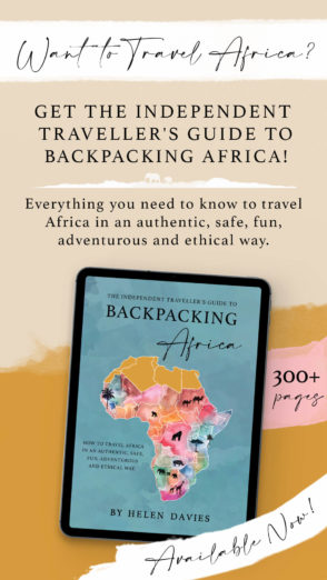 Independent Traveller's Guide to Backpacking Africa