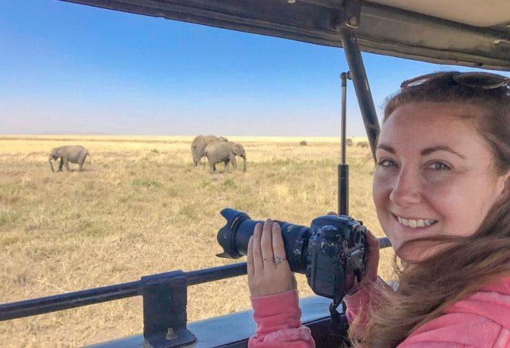 Helen in Wonderlust - Tanzania