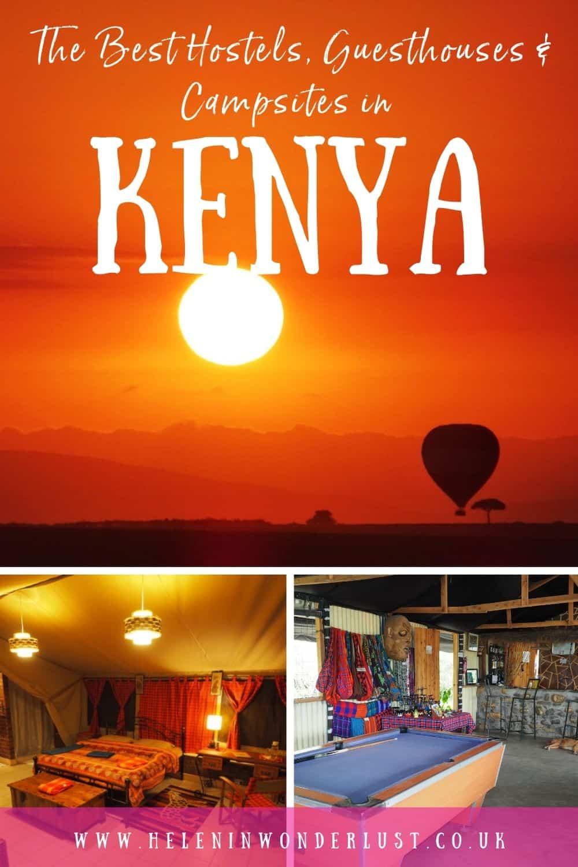 The Best Hostels, Guesthouses & Campsites in Kenya