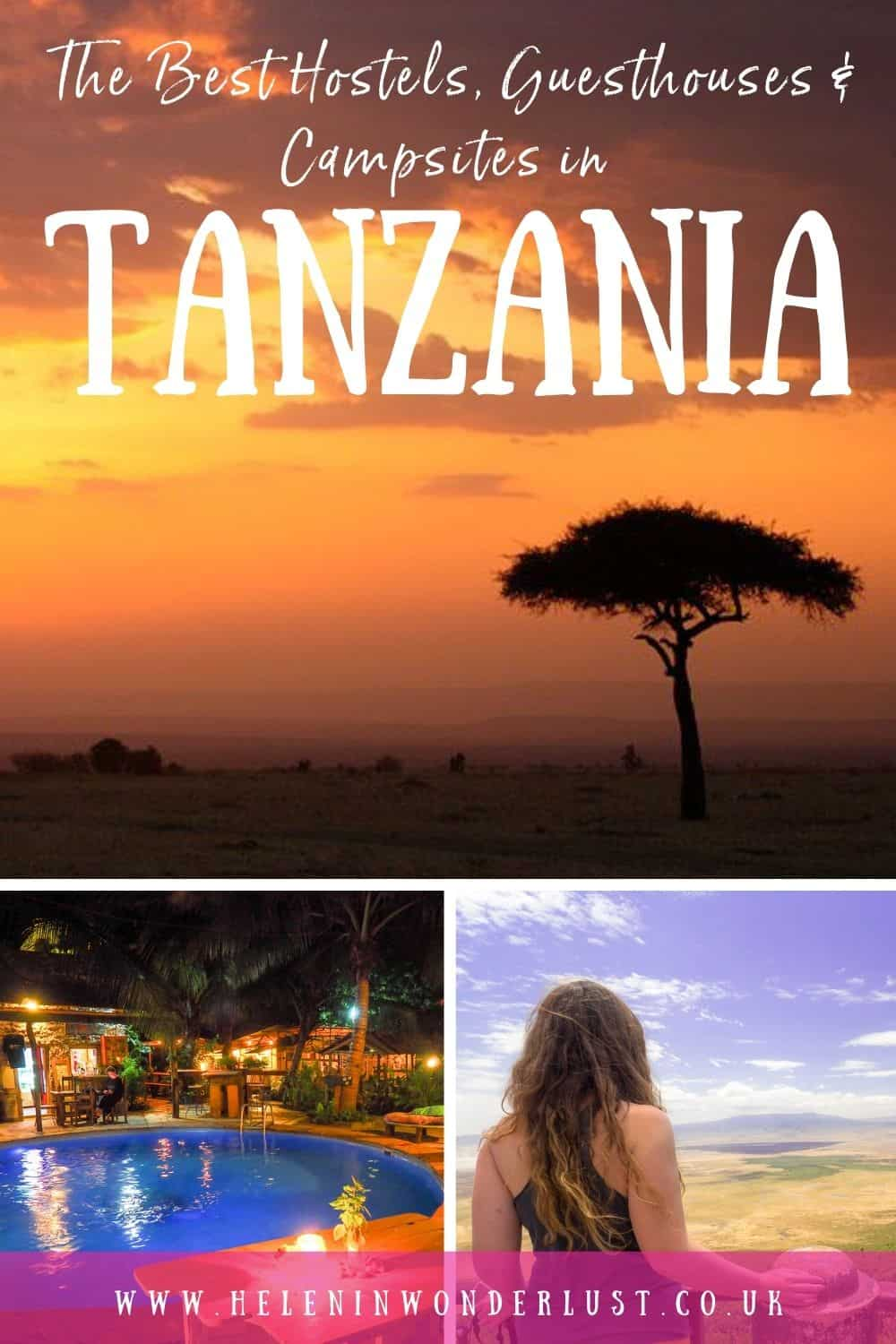 The Best Hostels, Guesthouses & Campsites in Tanzania